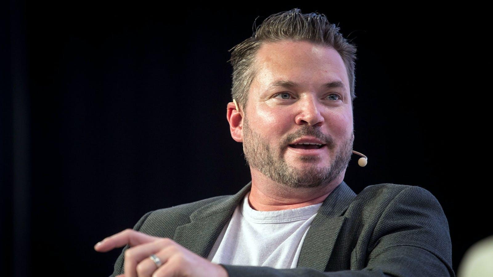 Bird CEO Travis VanderZanden. Photo by Bloomberg.