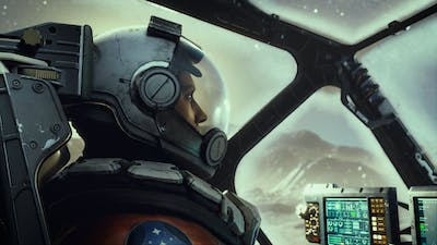 A screenshot from Starfield, a game by Microsoft's Bethesda studio. Photo: Bethesda