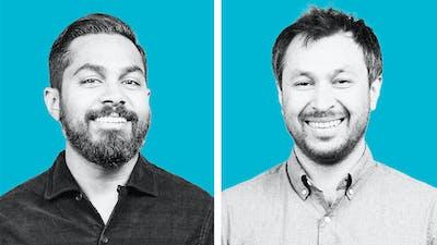 Solana's Raj Gokal and Anatoly Yakovenko. Photo: Solana