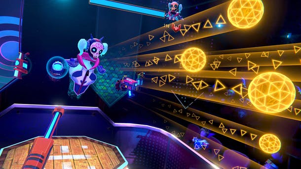 A screenshot from Blaston. Image: Resolution Games
