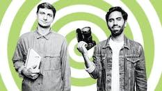 YouTube video producers Colin Rosenblum (l) and Samir Chaudry (r). Photo: Jesse Leon