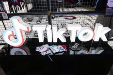 Signage is displayed at the TikTok Creator's Lab 2019 event hosted by Bytedance Ltd. in Tokyo. Photo: Bloomberg