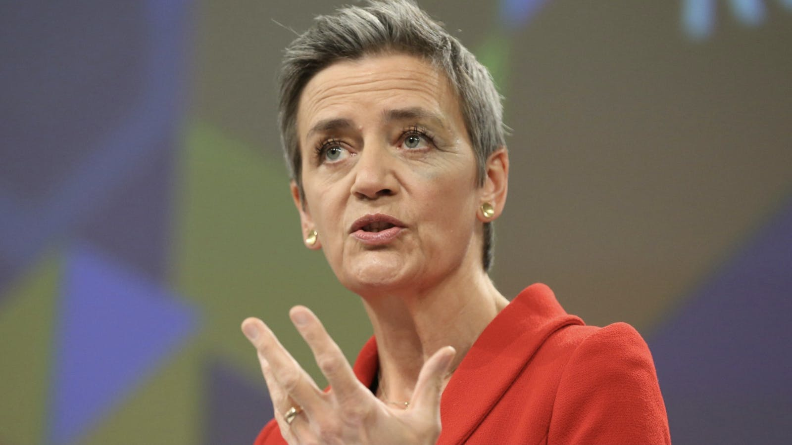 The European Commission's competition commissioner, Margrethe Vestager. Photo by Bloomberg