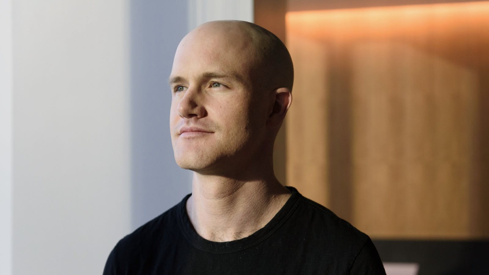 Coinbase CEO Brian Armstrong, shown in 2017. Photo: Bloomberg