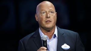 Disney CEO Bob Chapek. Photo by Bloomberg.