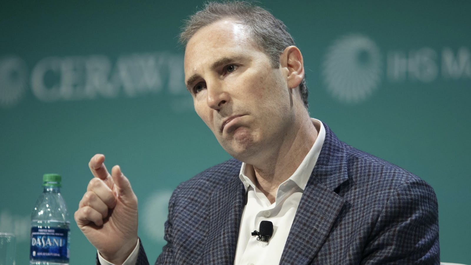 Amazon's incoming CEO Andy Jassy. Photo by Bloomberg