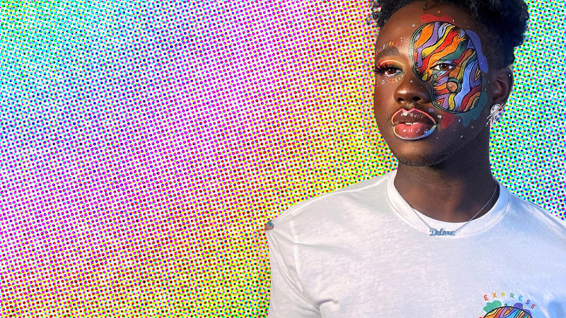 Makeup artist and influencer Jeremiah Jacques. Photo: Jeremiah Jacques