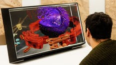 A 3D display. Photo by Looking Glass Factory.