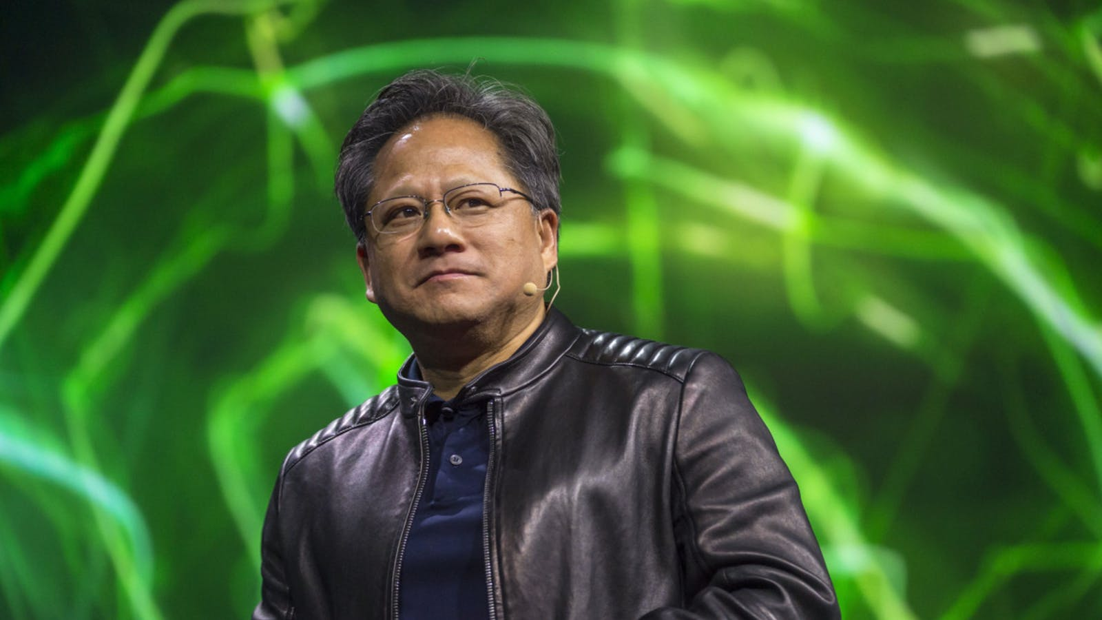 Nvidia CEO Jensen Huang. Photo by Bloomberg