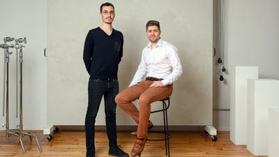 Ramp co-founders Karim Atiyeh (left) and Eric Glyman. Photo courtesy of Ramp.