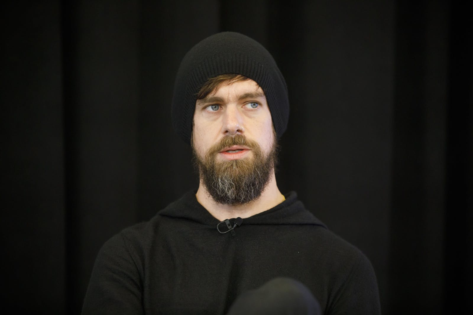 Square's Jack Dorsey. Photo by Bloomberg
