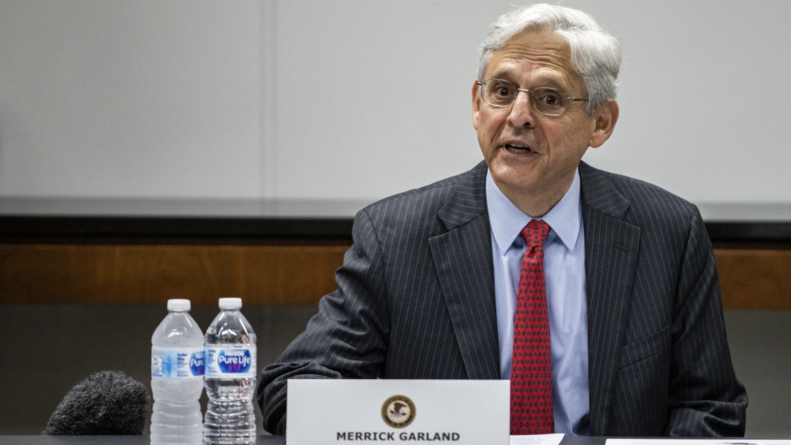 Attorney-General Merrick Garland. Photo by Bloomberg