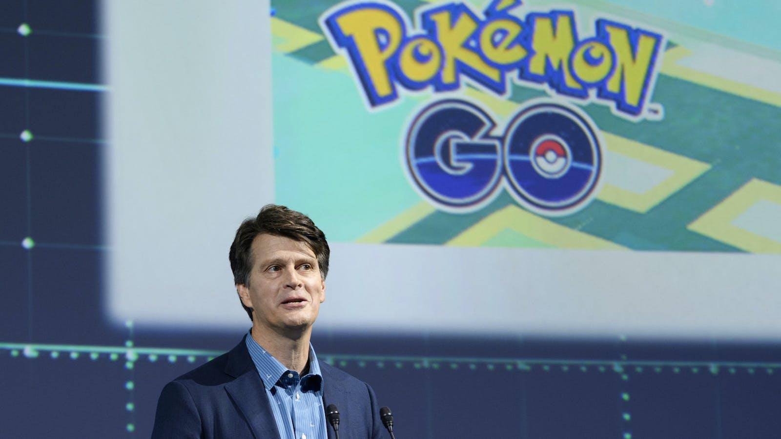 Niantic CEO John Hanke. Photo by Bloomberg