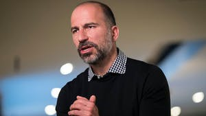 Dara Khosrowshahi, CEO of Uber. Photo by Bloomberg