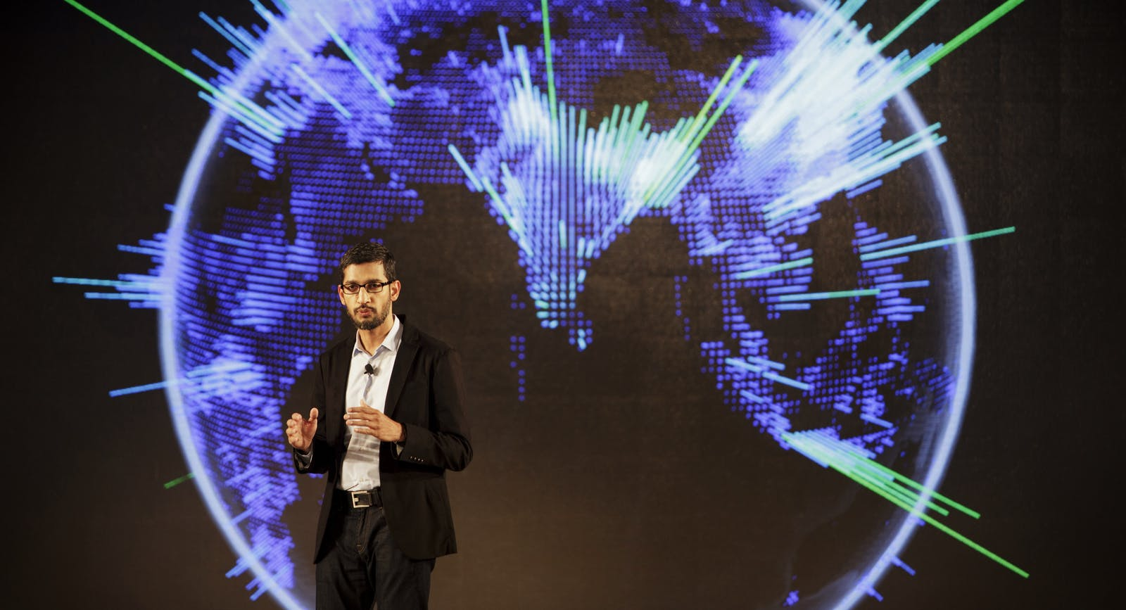 Google's Sundar Pichai, who oversees Android. Photo by Bloomberg.