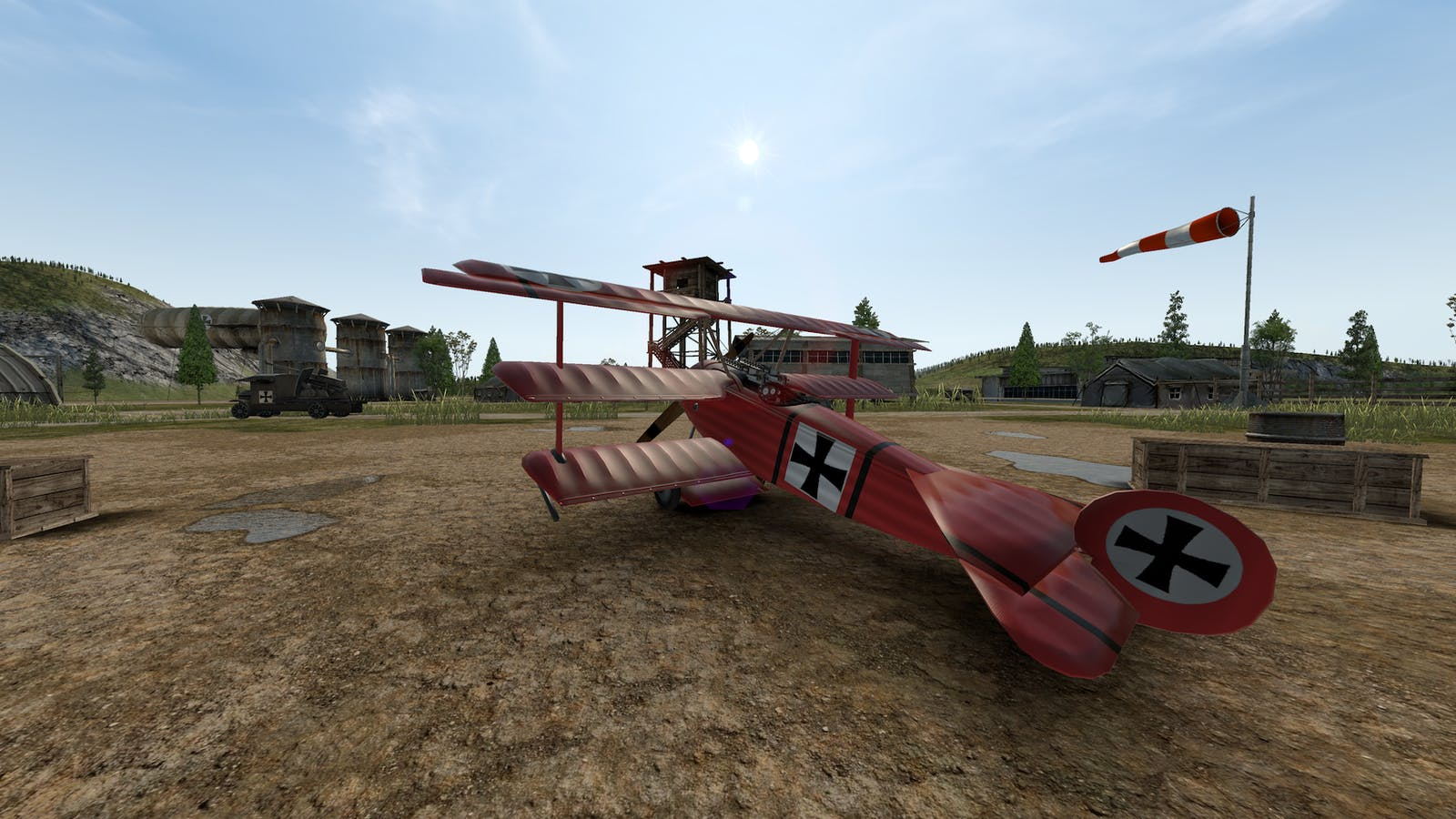 An image from Warplanes: WW1 Fighters, the first App Lab game to later be released on the official Quest store. Credit: Home Net Games