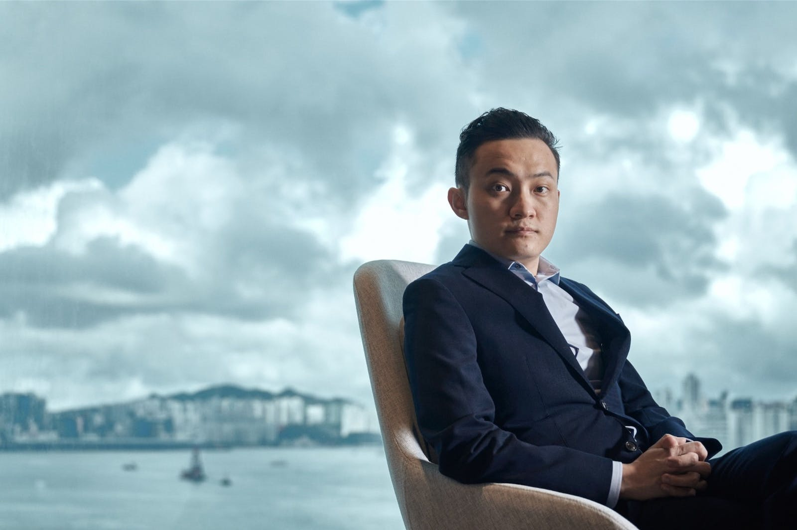 Article Image Caption  Tron CEO Justin Sun in Hong Kong in May, 2020. Sun said he spent $600,000 on an EtherRock. Photo: Bloomberg