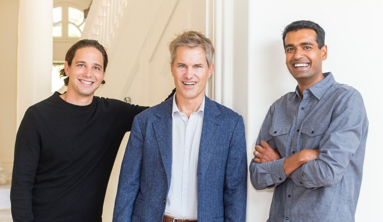 A-Star Partners co-founders and general partners  Bennett Siegel, Kevin Hartz and Gautam Gupta. Source: A-Star Partners