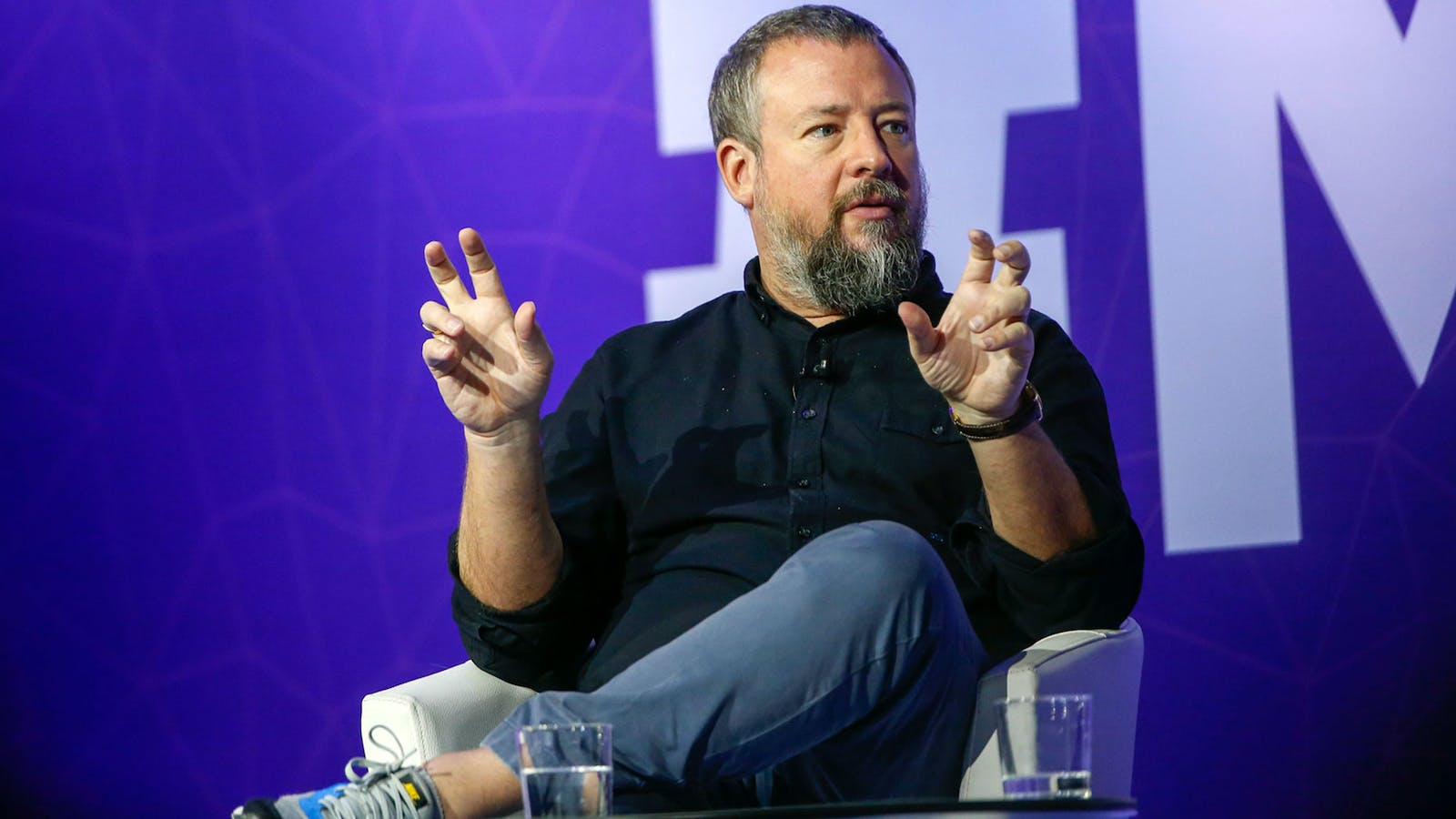 Vice cofounder Shane Smith. Photo by Bloomberg