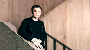 Zhao Changpeng, CEO of Binance. Photo by Bloomberg