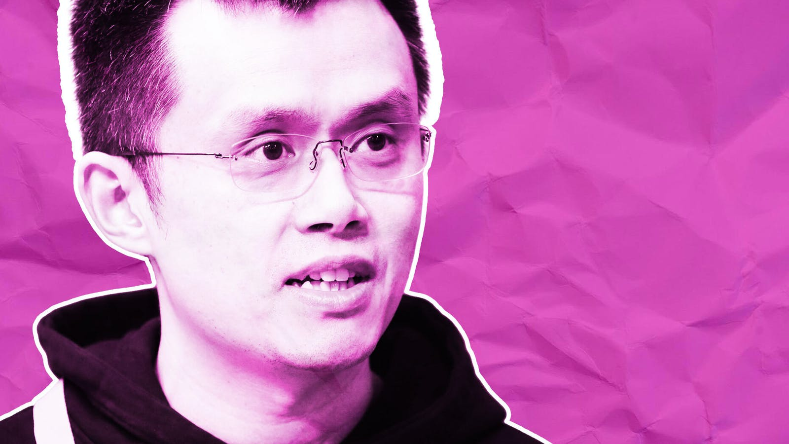 Changpeng Zhao, CEO and founder of Binance. Photo by Bloomberg