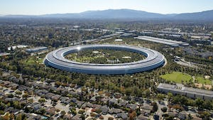 Apple's campus. Photo by Bloomberg