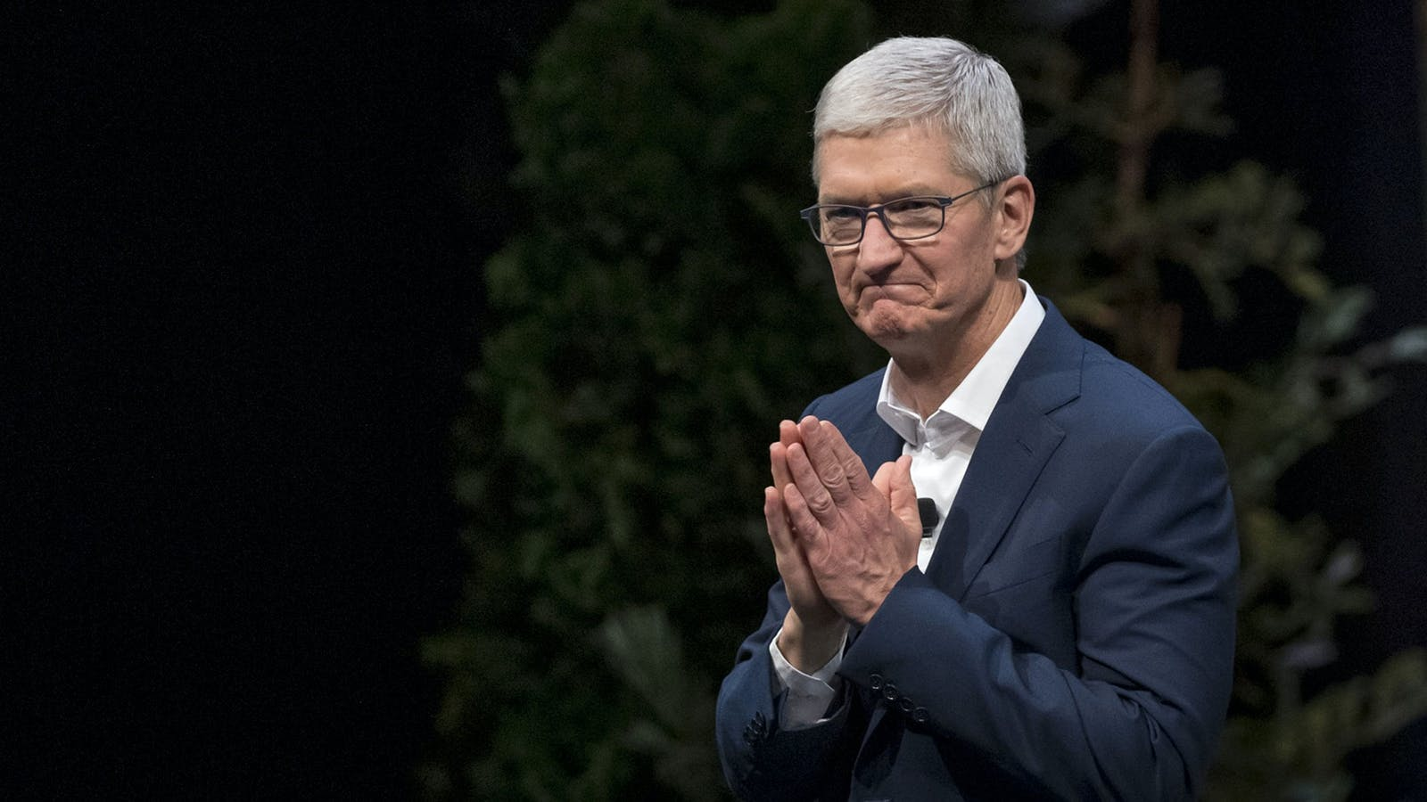 Apple CEO Tim Cook in 2019. Photo by Bloomberg