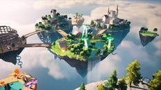 """""""Skyland,"""" a world built with Fortnite's metaverse-esque creative tools. Credit: Epic Games"""