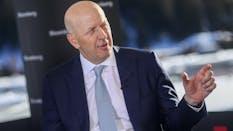 Goldman CEO David Solomon. Photo by Bloomberg