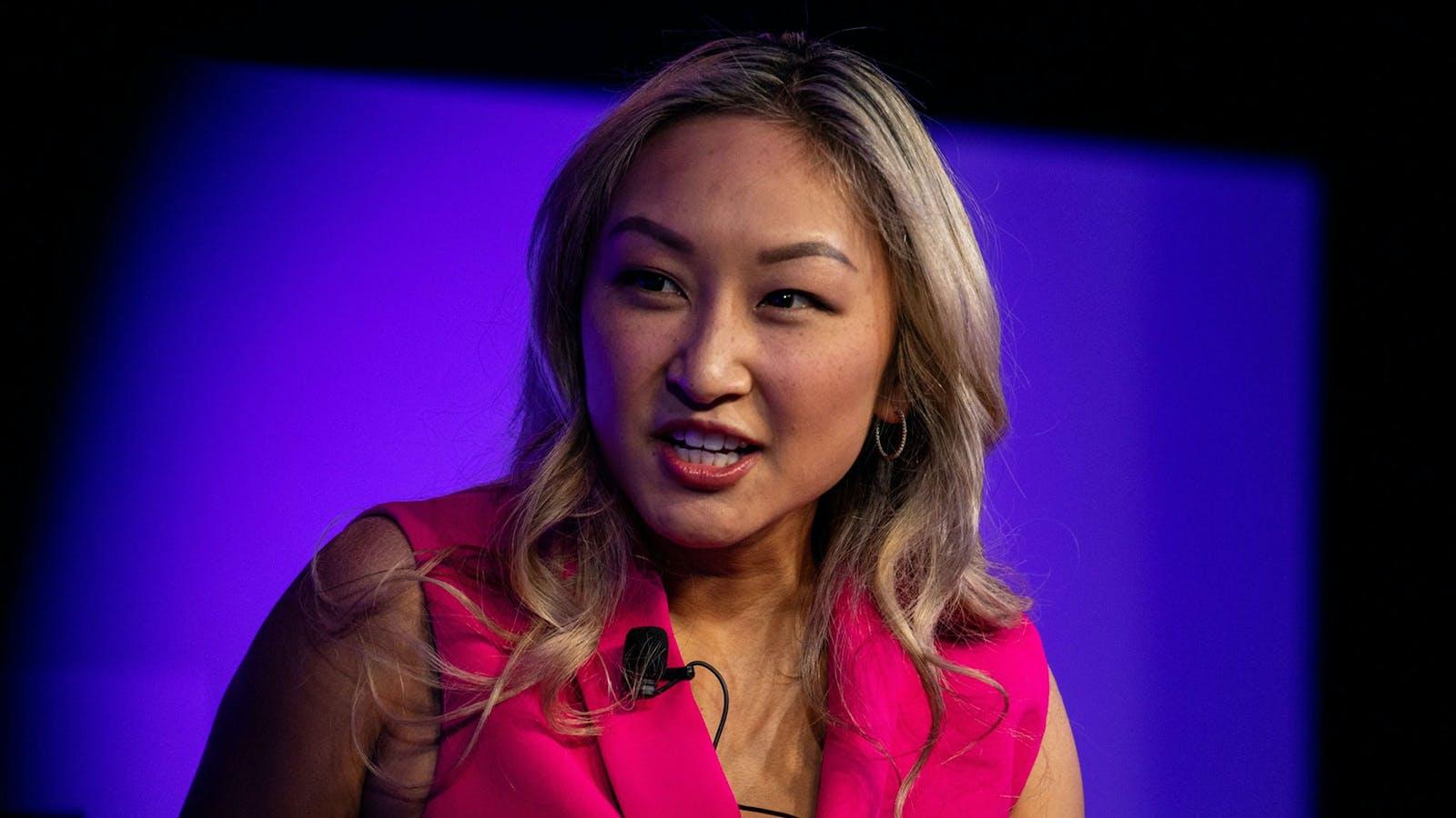 Sarah Guo, a general partner at Greylock Partners. Photo by Bloomberg.