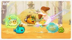 Art from the Axie Infinity NFT game. Photo: Axie Infinity.