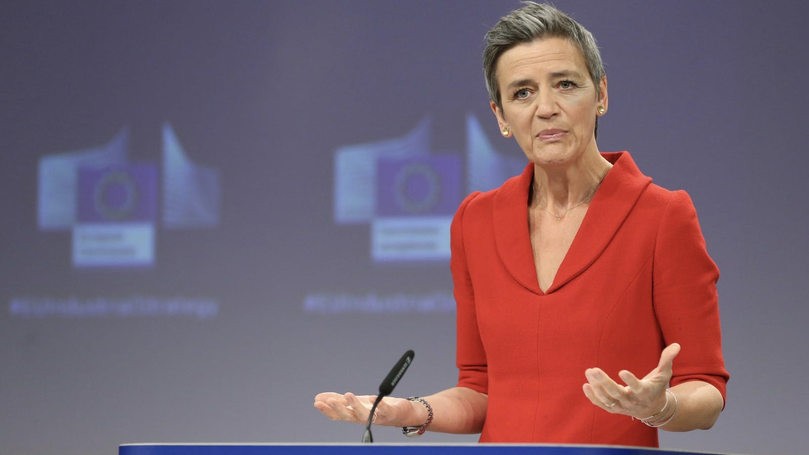 European Commissioner competition commissioner Margrethe Vestager. Photo by Bloomberg.