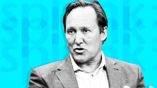 Splunk CEO Doug Merritt. Photo by Bloomberg. Illustration by Mike Sullivan