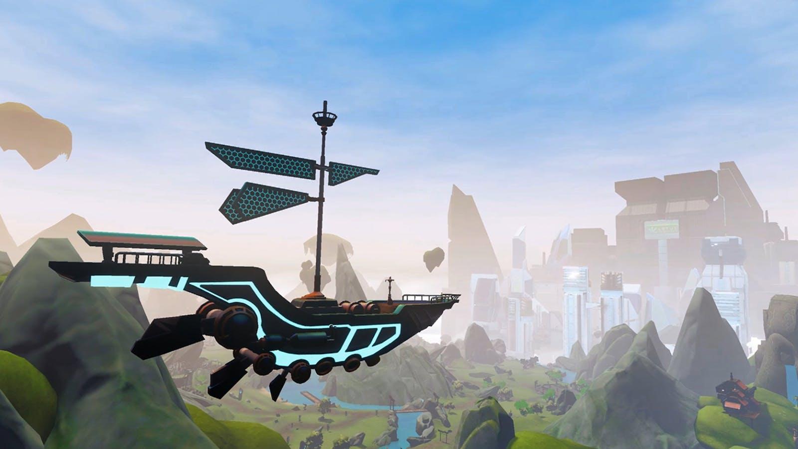 A scenic vista in Zenith: The Last City. Credit: Ramen VR