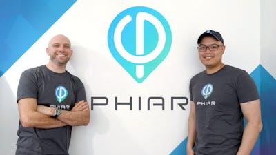 New Phiar CEO Gene Karshenboym and co-founder/CTO Chen-Ping Yu. Photo: Phiar