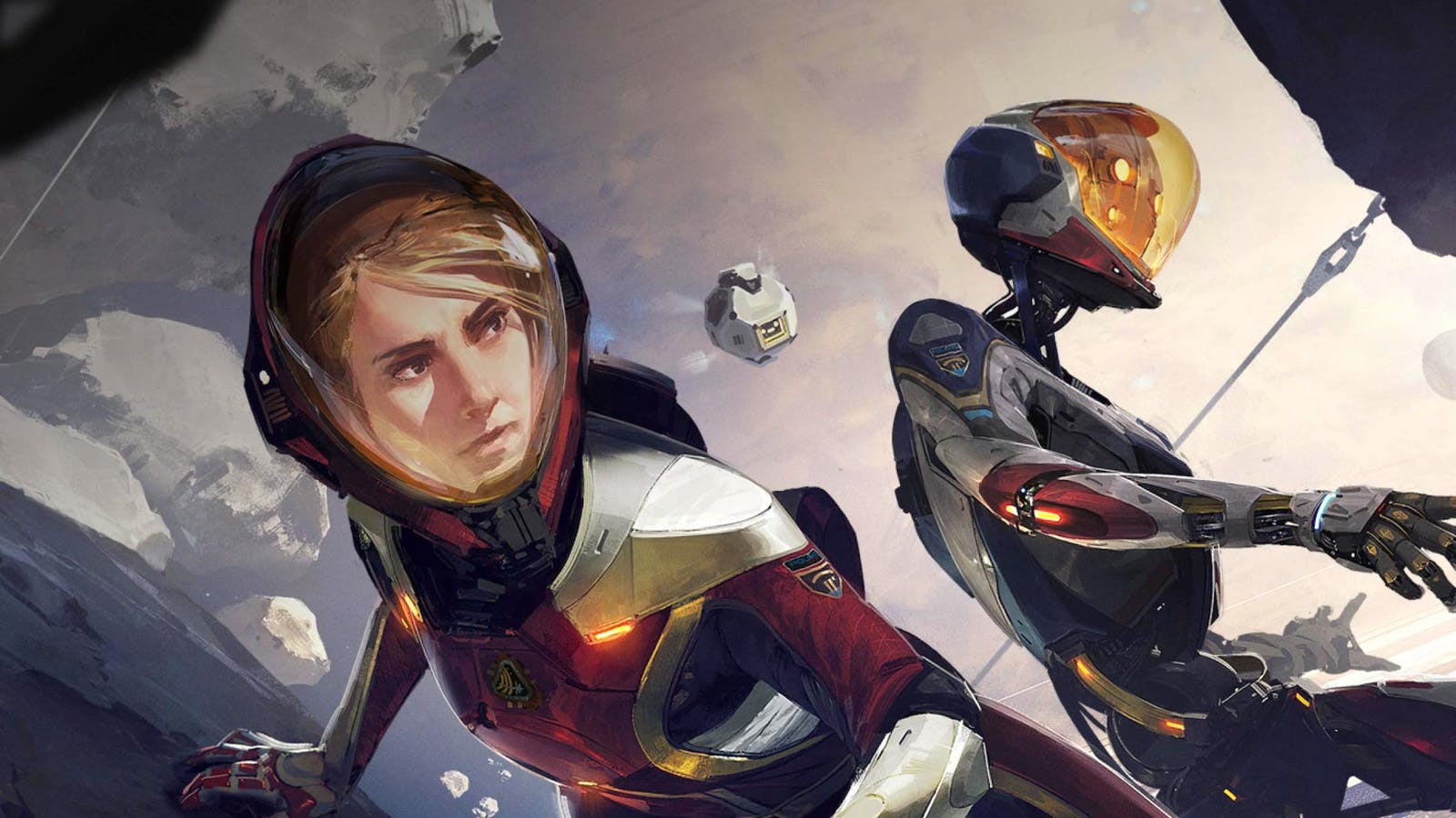 The lead characters of Facebook's Lone Echo VR games. Credit: Oculus Studios/Ready At Dawn