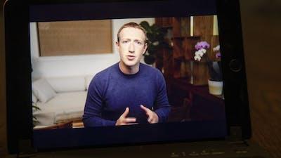 Facebook CEO Mark Zuckerberg. Photo by Bloomberg.