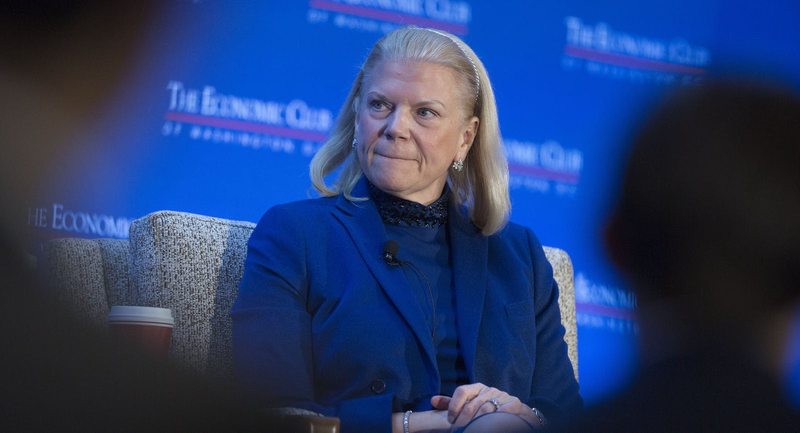 IBM CEO Ginni Rometty. Photo by Bloomberg.