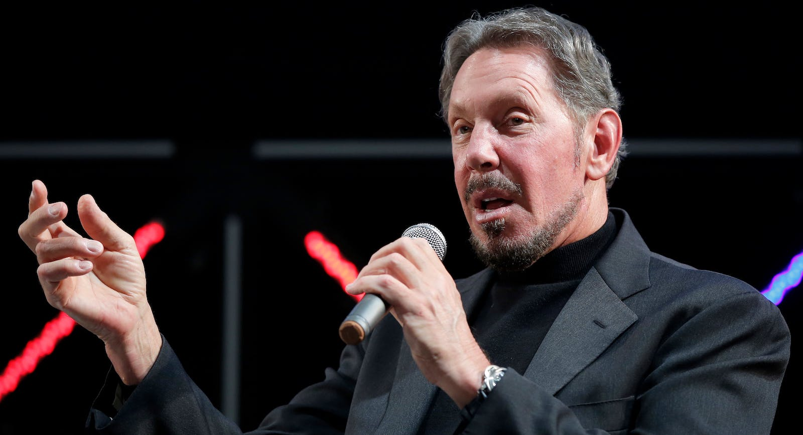 Oracle chairman Larry Ellison. Photo by Bloomberg