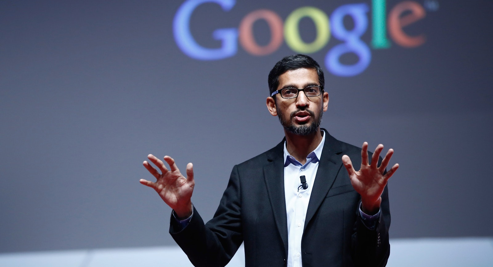 Google SVP Sundar Pichai, who oversees Android and Google Play. Photo by Bloomberg.