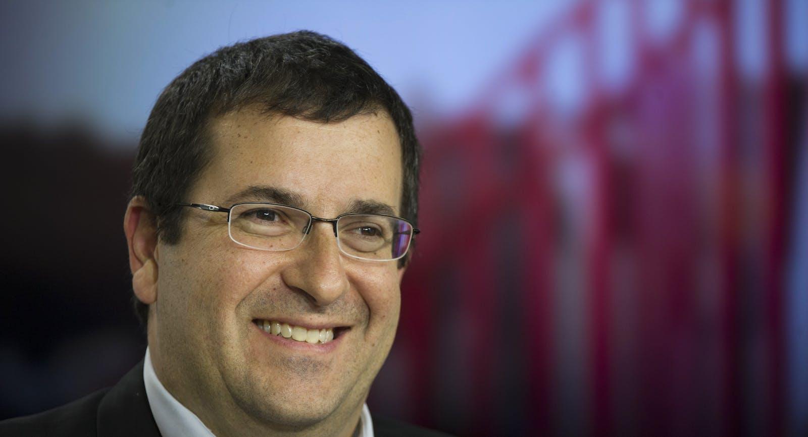 Dave Goldberg. Photo by Bloomberg.