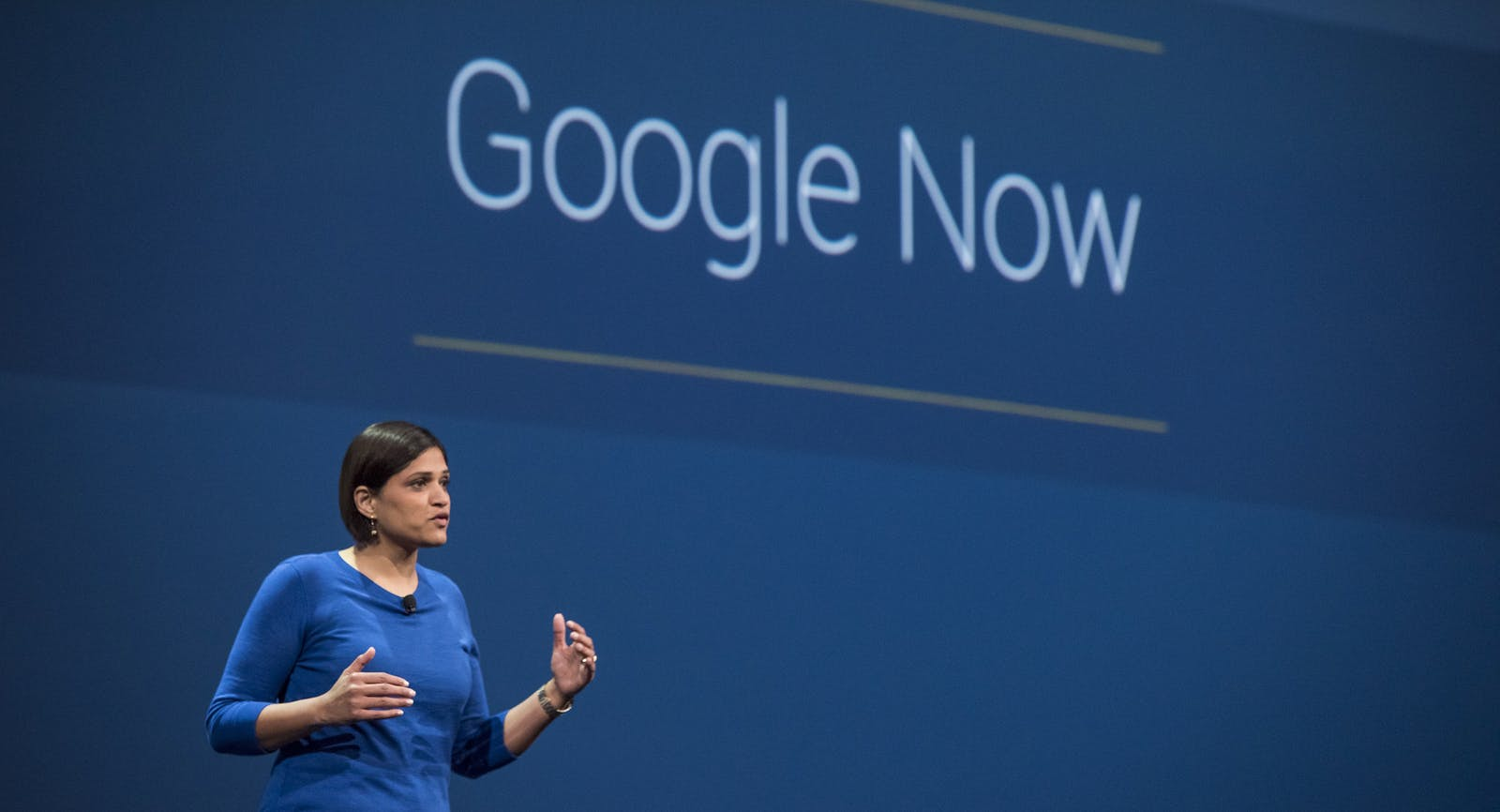 Aparna Chennapragada runs Google Now. Photo by Bloomberg.