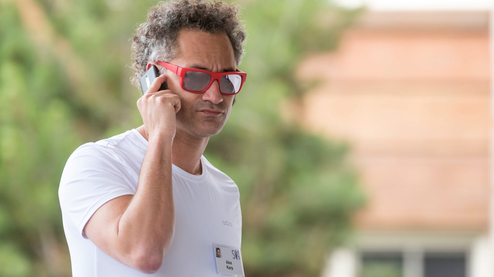 Palantir CEO Alexandar Karp. Photo by Bloomberg.