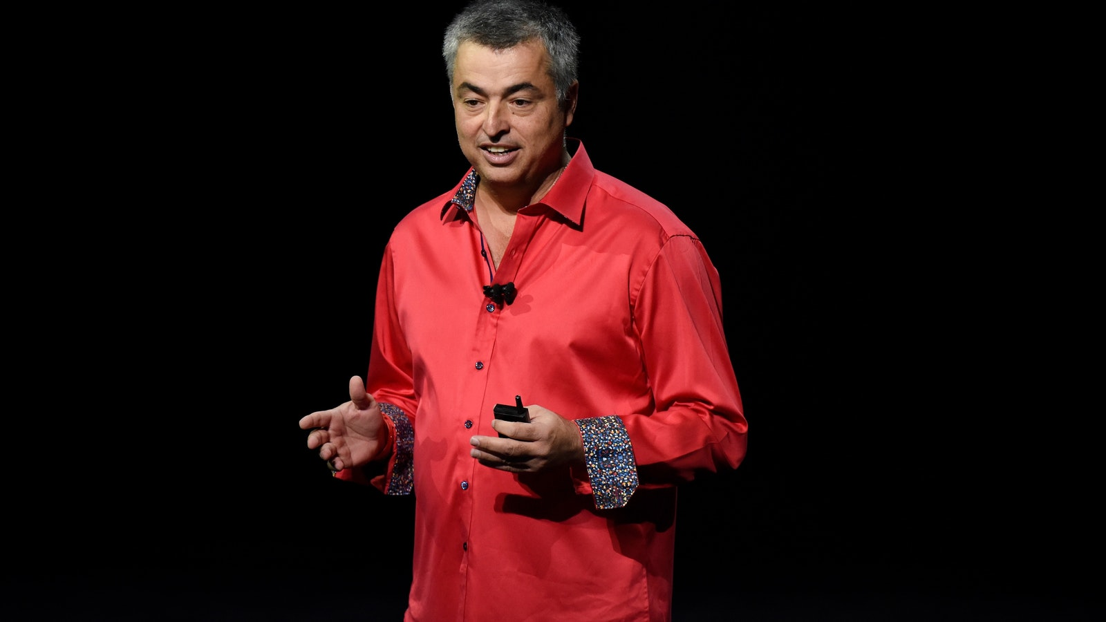 Eddy Cue. Photo by Bloomberg.