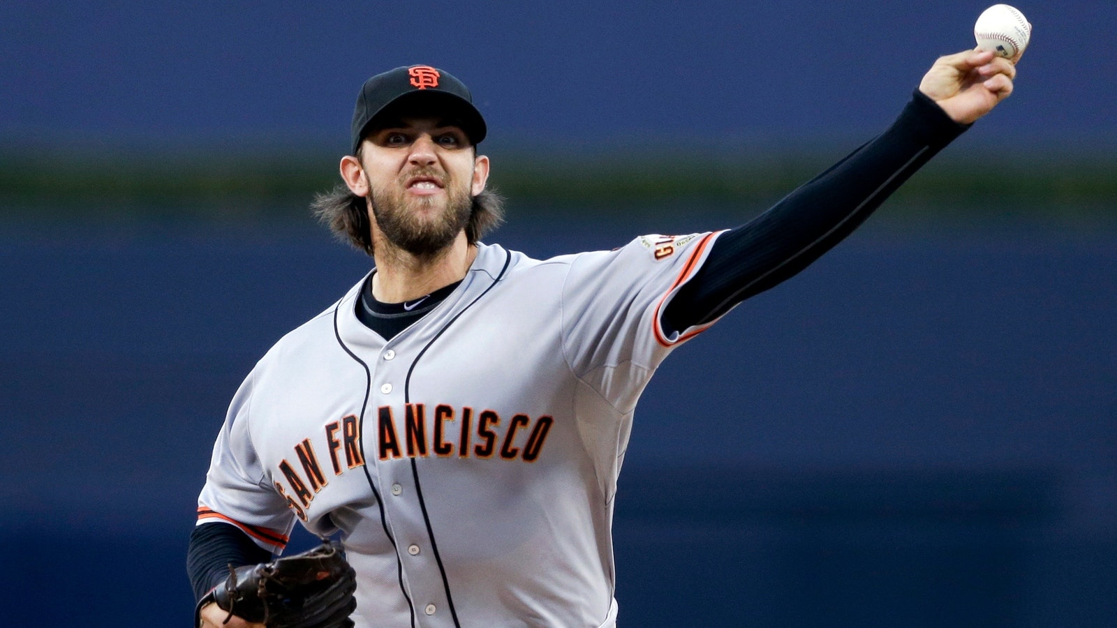 Madison Bumgarner. Photo by AP.