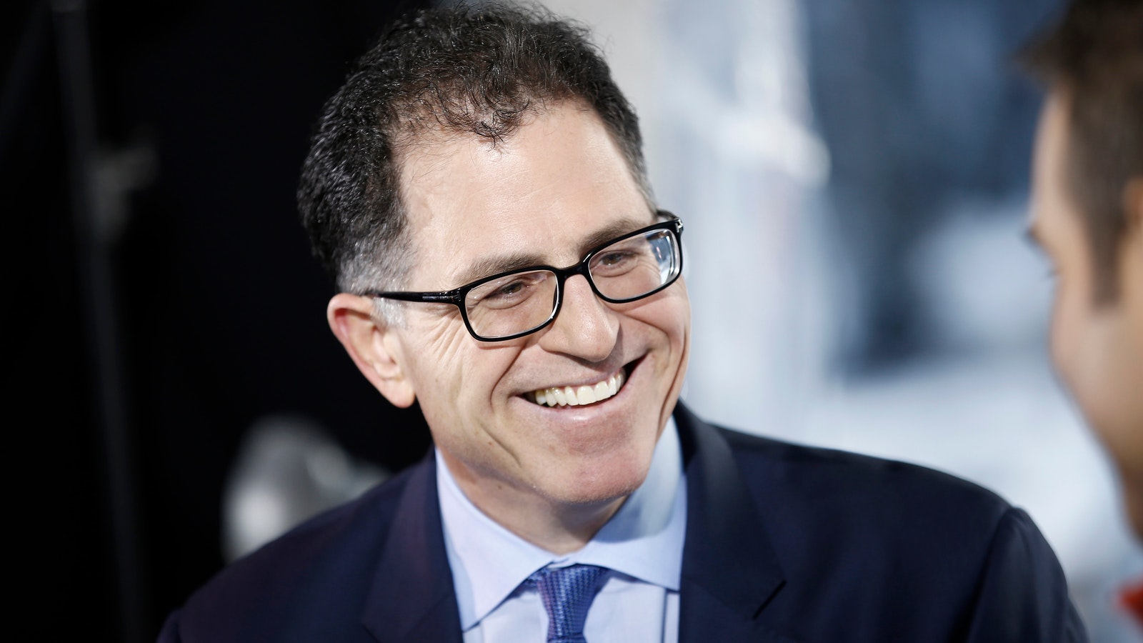 Michael Dell. Photo by Bloomberg.