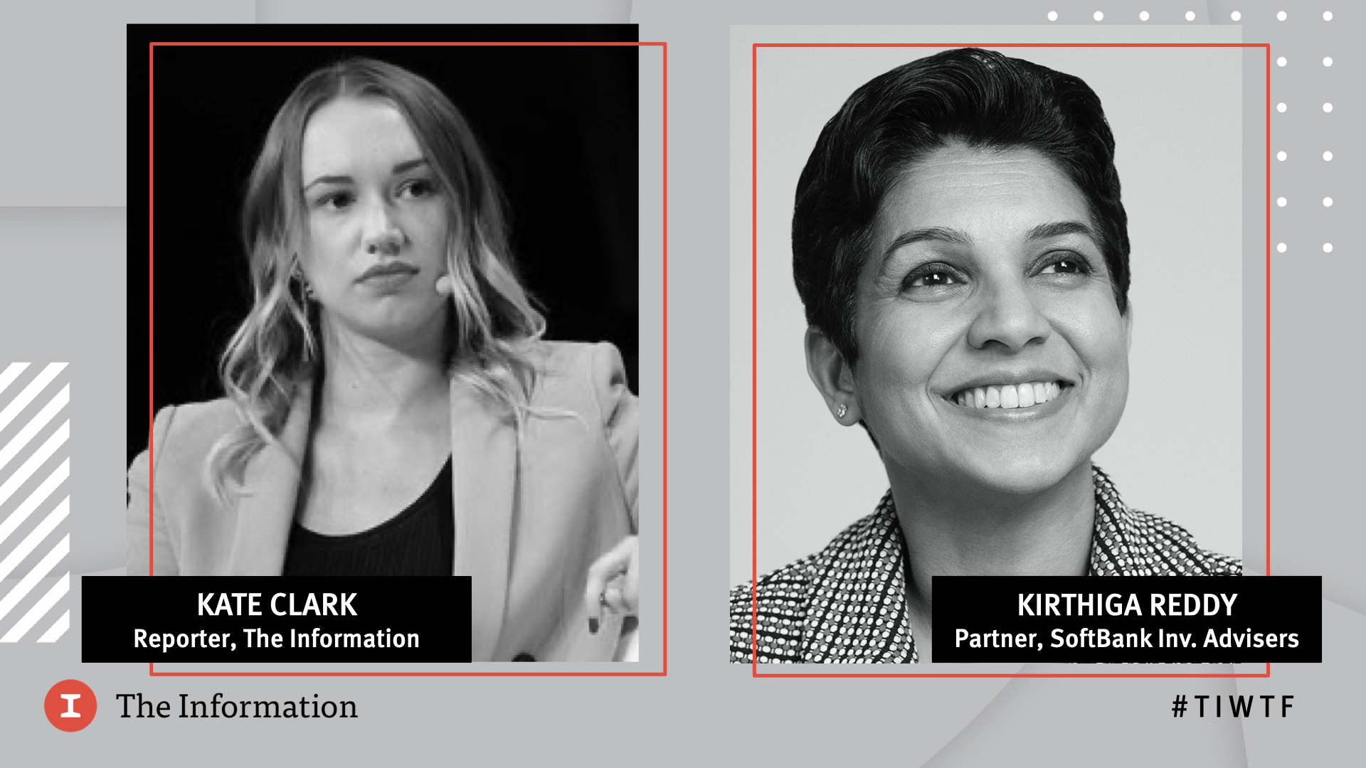 WTF 2020 - SoftBank Investment Advisers' Partner Kirthiga Reddy in conversation with Kate Clark, Reporter at The Information