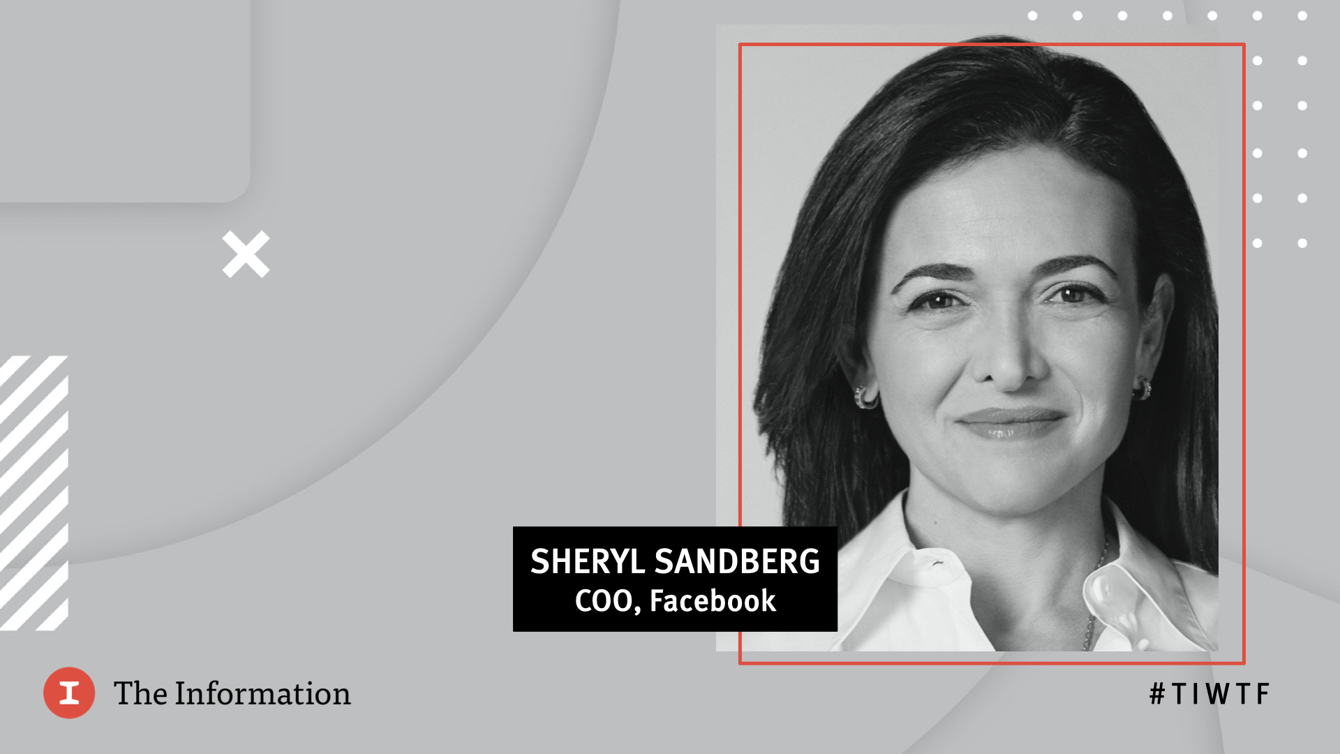 WTF 2020 - Facebook's COO Sheryl Sandberg in conversation with Jessica Lessin, Founder & CEO of The Information