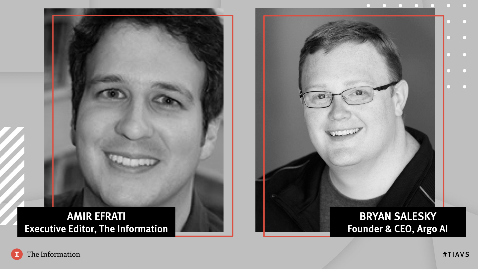 Clip of Bryan Salesky, Founder & CEO, Argo AI in conversation with Amir Efrati, Executive Editor, The Information